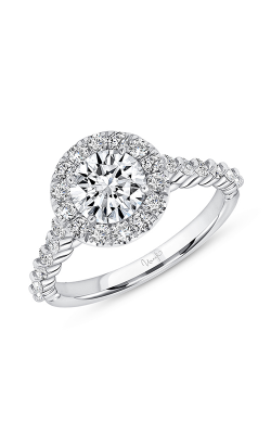 Uneek Engagement Rings Engagement Ring SWUS017RDCW-6.5RDV2 product image