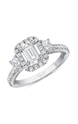 Uneek Radiant Diamond Engagement Ring SWUS308RAD-6.7X5RAD product image