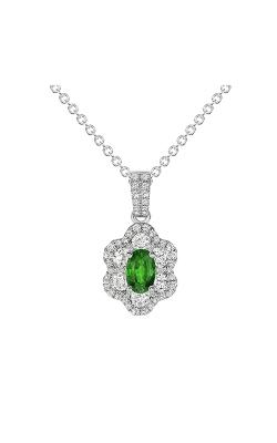 Uneek Oval Emerald Pendant LVNRI289E product image