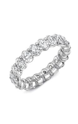 Uneek Oval Diamond Eternity Wedding Band ETCOV500 product image