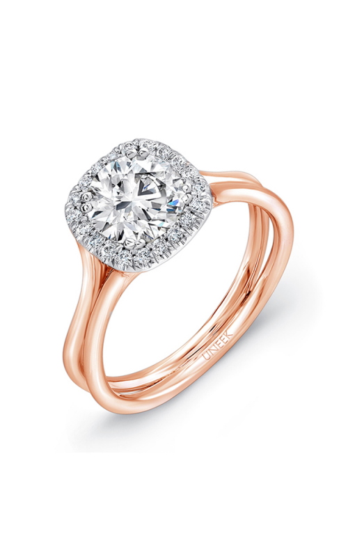 Uneek Silhouette Engagement ring LVS949R-6.5RD product image