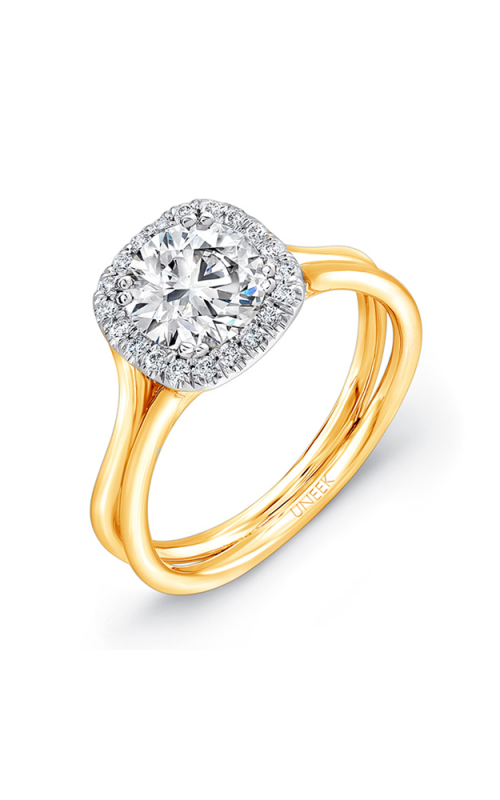 Uneek Silhouette Engagement ring LVS949Y-6.5RD product image