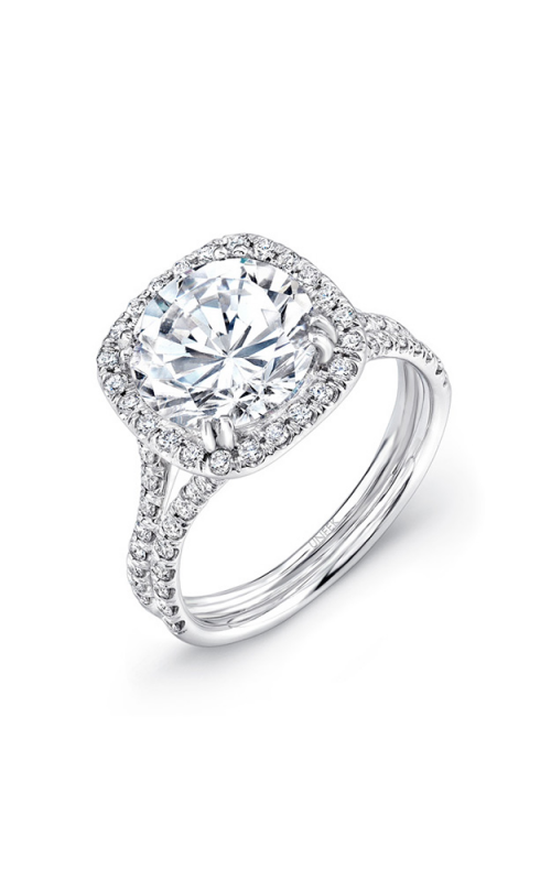 Uneek Silhouette Engagement ring LVS852 product image