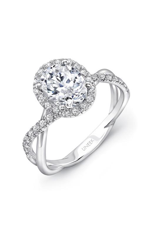 Uneek Infinity Engagement ring SM817OV-8X6OV product image