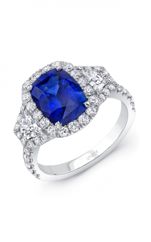 Uneek Royal Blue Engagement ring LVS985CU product image