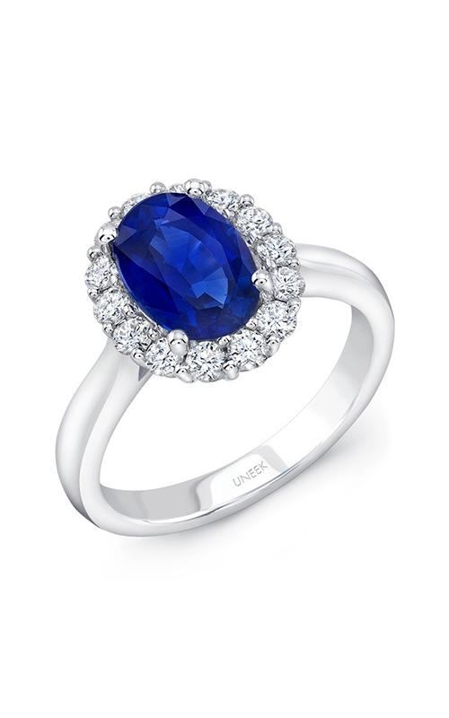 Uneek Royal Blue Engagement ring LVRMI1029S product image