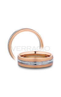 Verragio Men's Wedding Bands MV-6N02-RWR