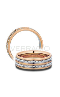 Verragio Men's Wedding Bands MV-7N03-RWR