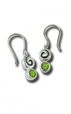 Zina Swirl Earrings B733-P product image