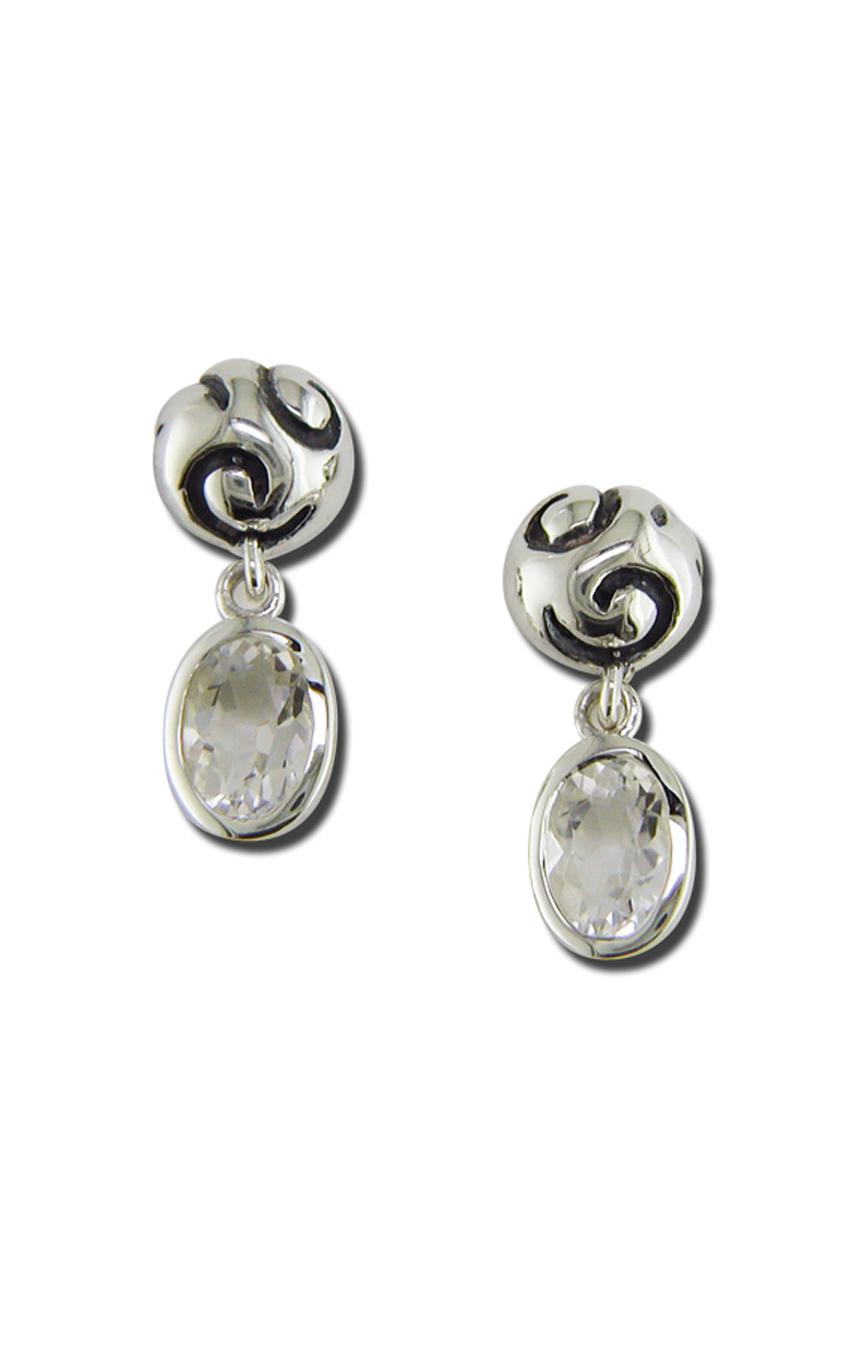 Zina Swirl Earrings B1237-RC product image