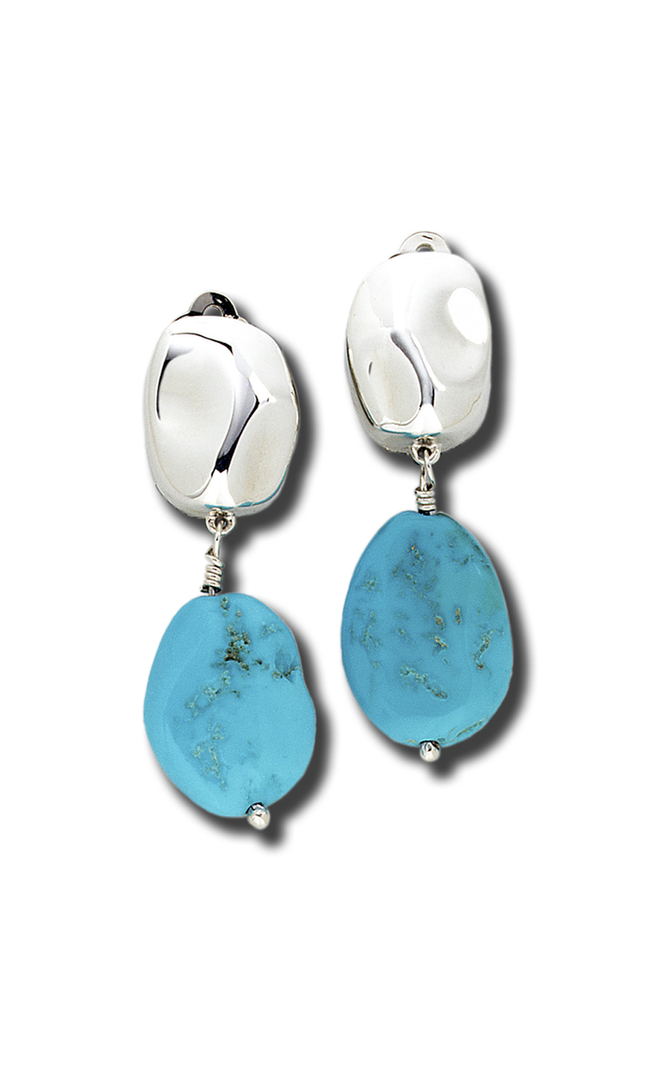 Zina Touchstone Earrings B174-TQ product image
