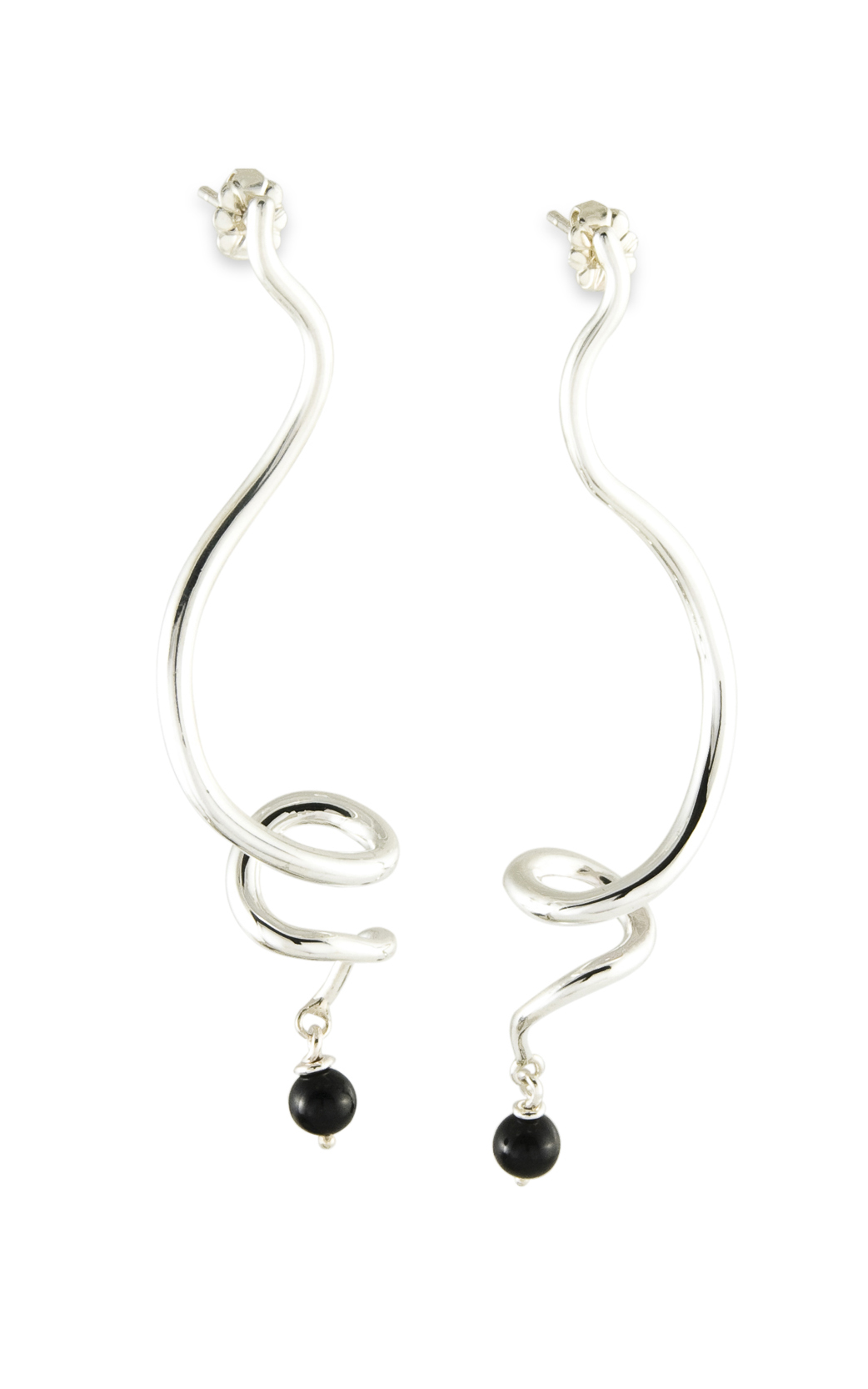 Zina Contemporary Earrings B213-ST product image