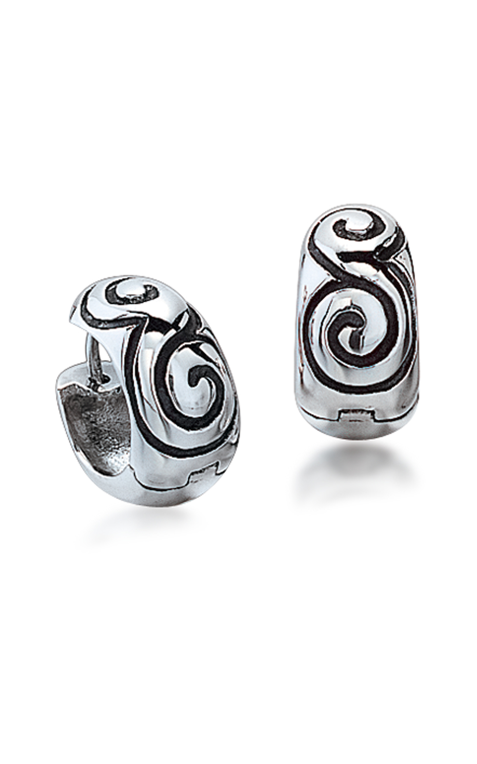 Zina Swirl Earrings B505-SW product image