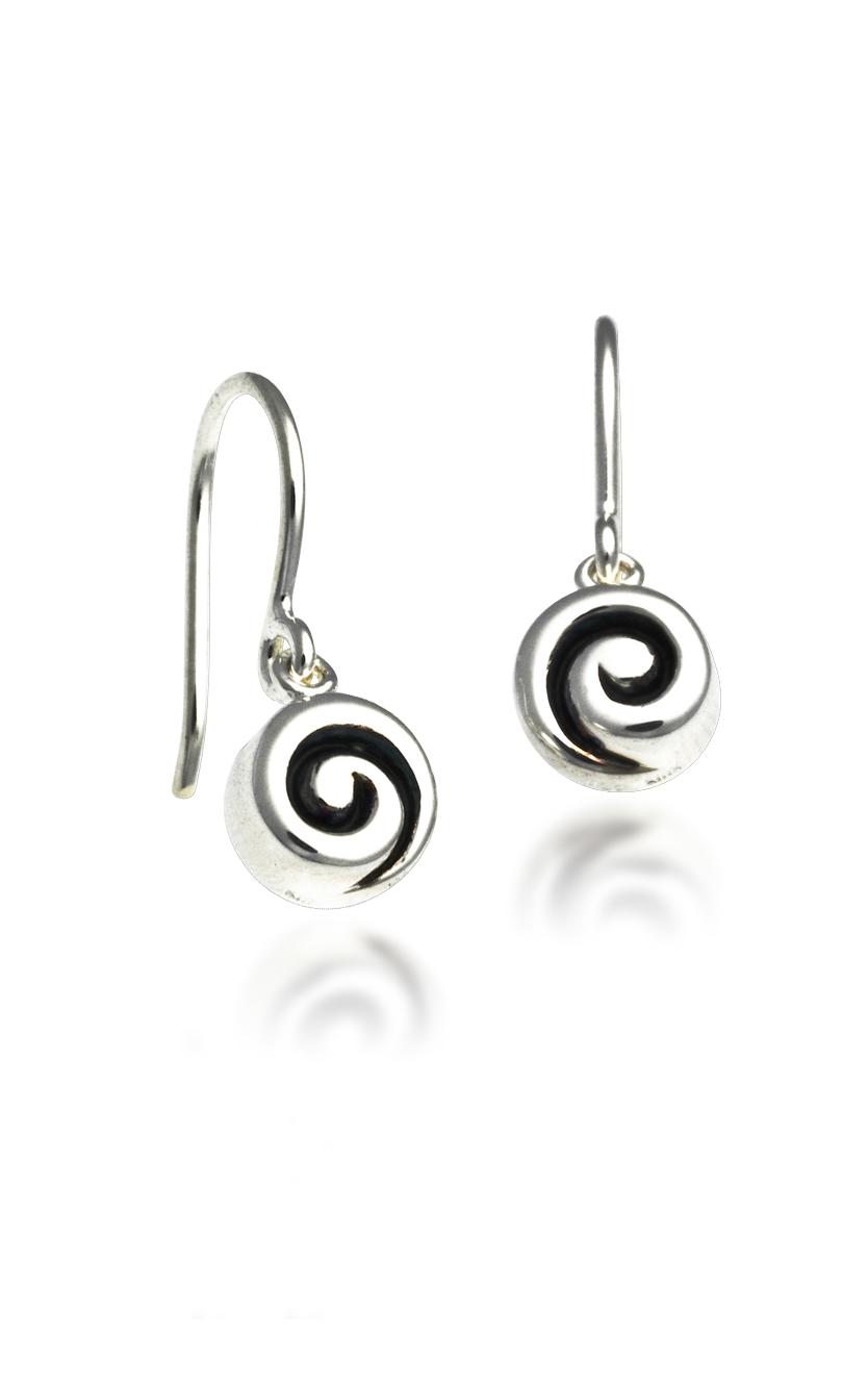 Zina Swirl Earrings B732-SW product image