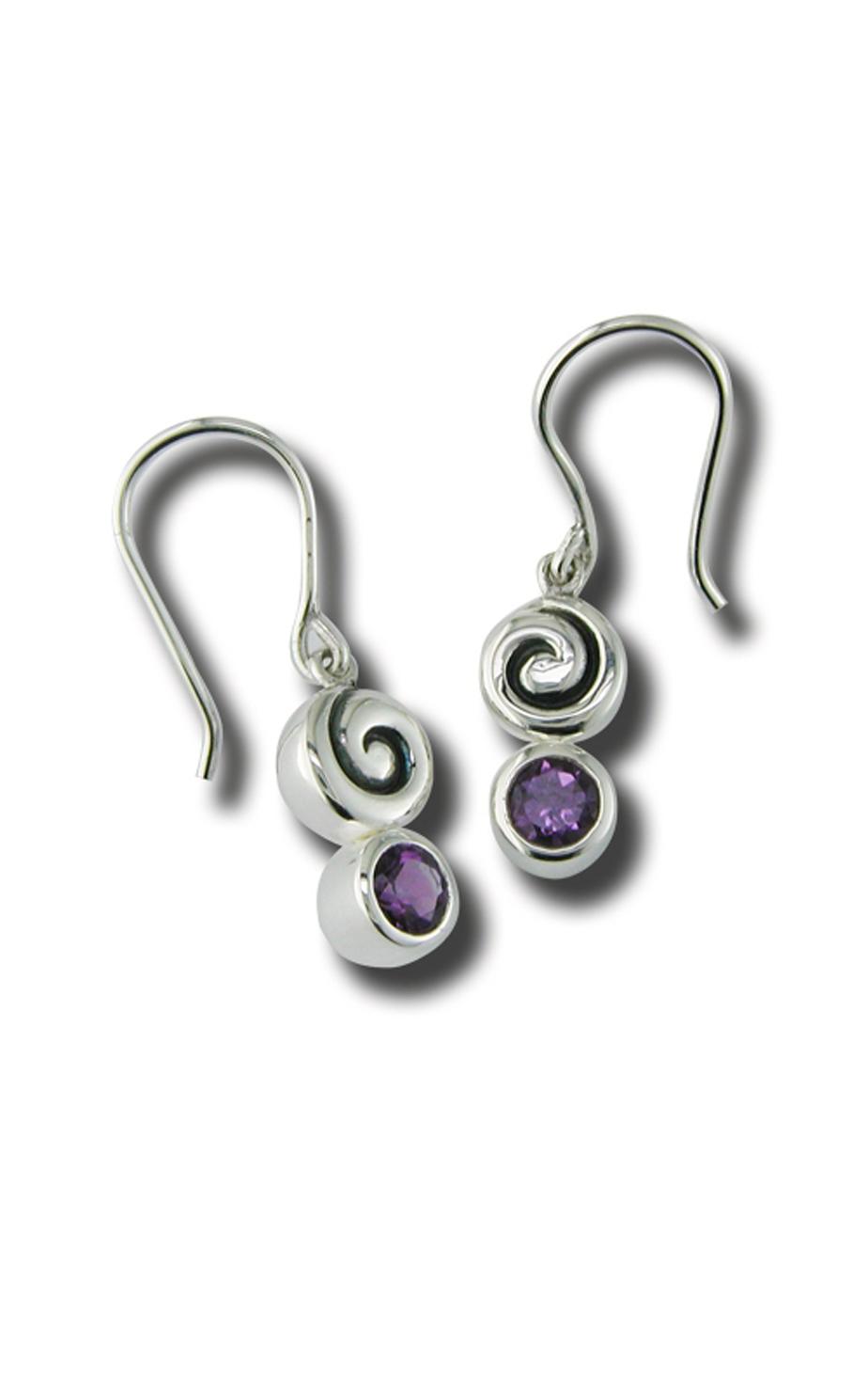 Zina Swirl Earrings B733-A product image