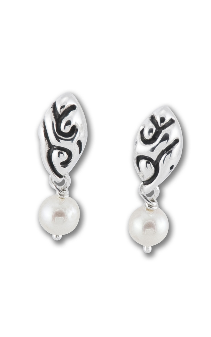 Zina Swirl Earrings B1206-PR product image