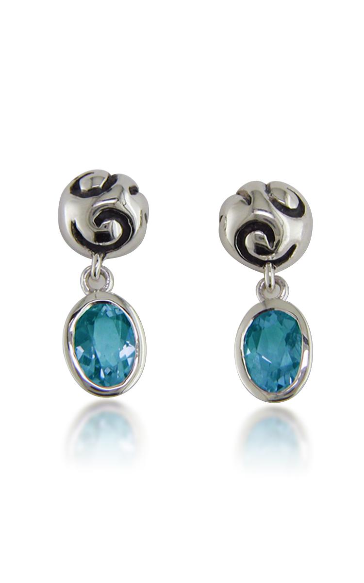 Zina Swirl Earrings B1237-BT product image