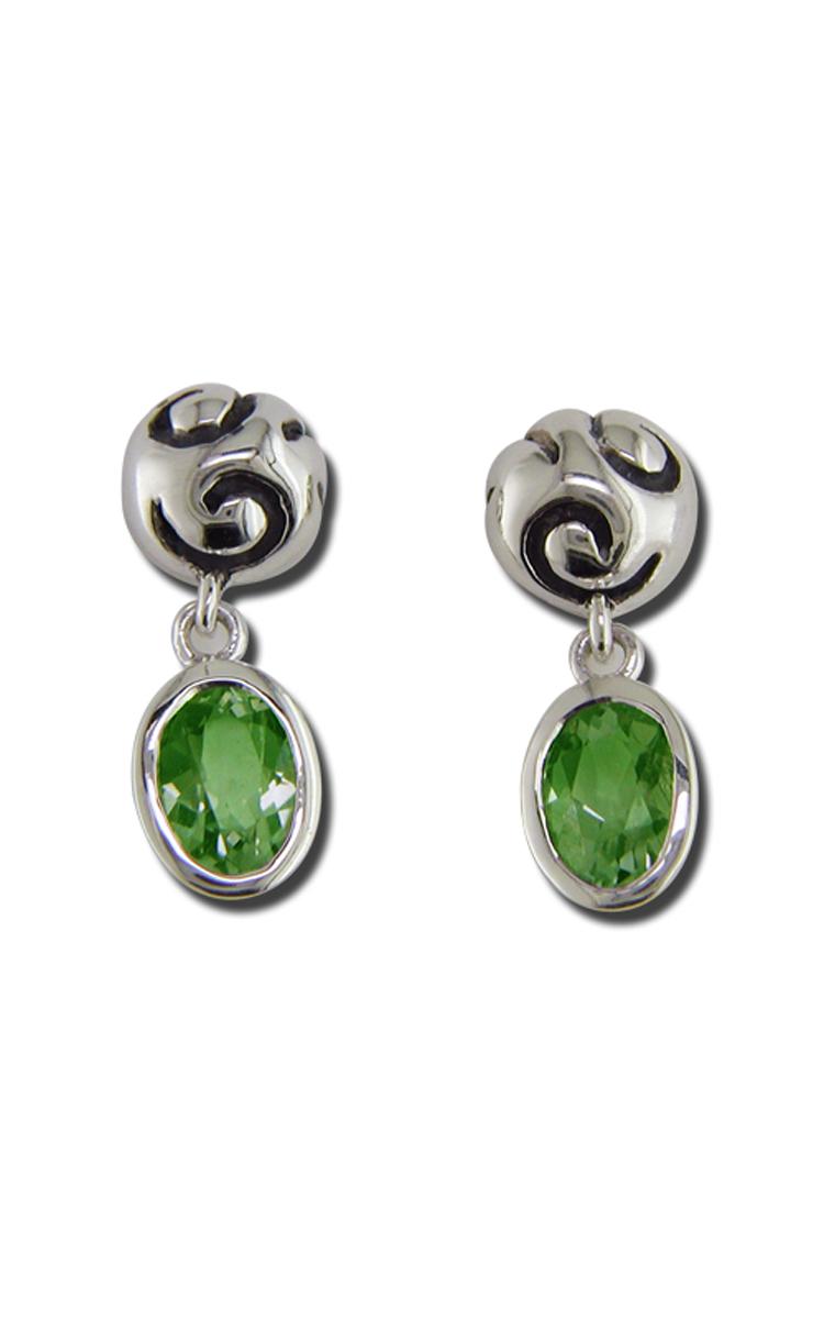 Zina Swirl Earrings B1237-P product image