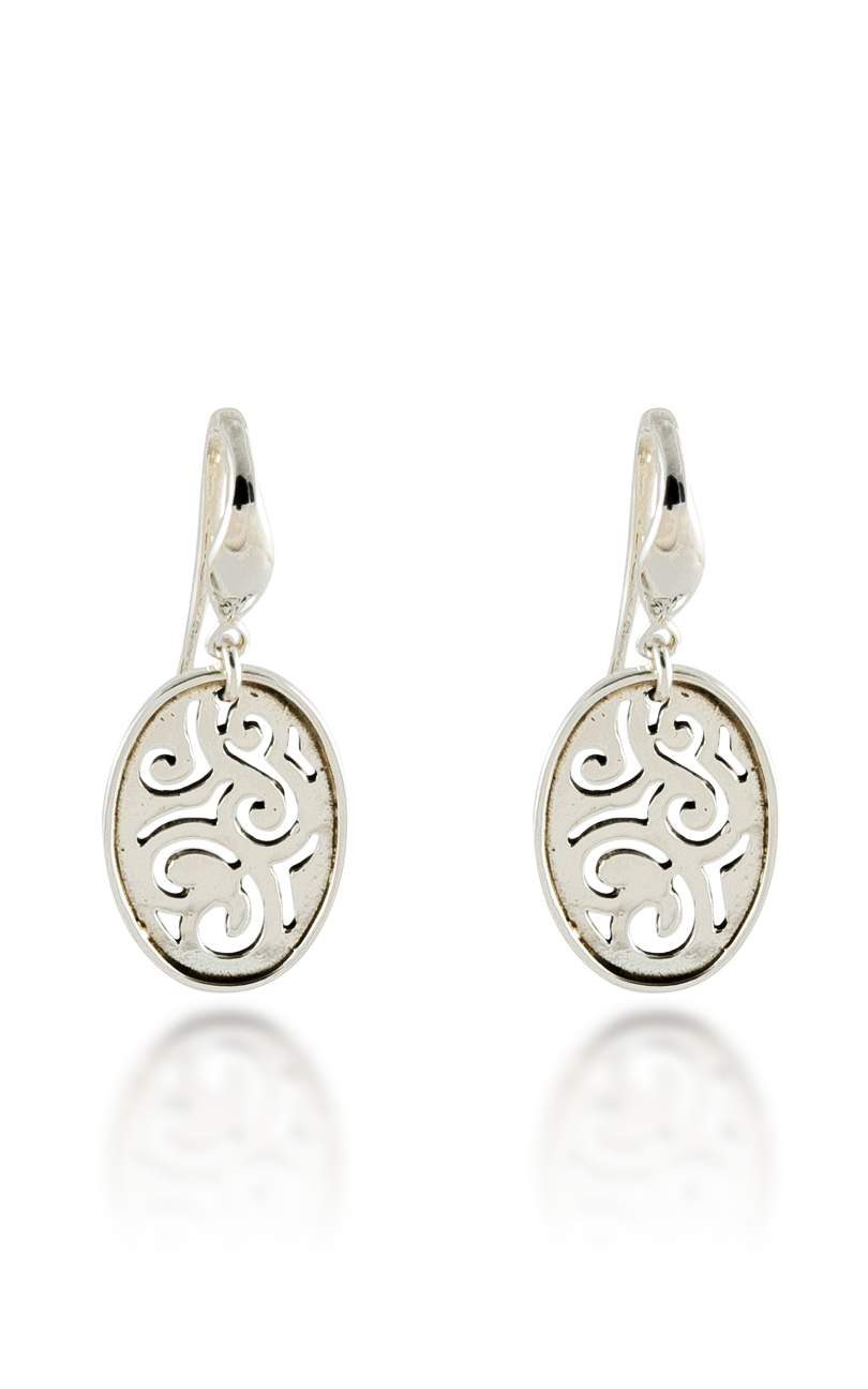 Zina Swirl Earrings B1276 product image