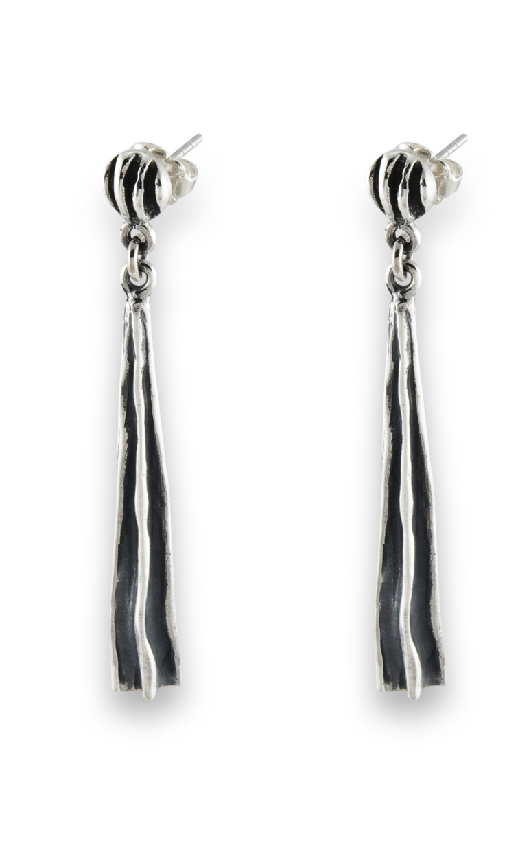 Zina Waves and Meditation Earrings B1384 product image