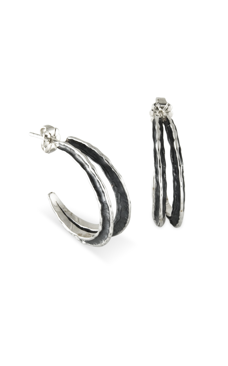 Zina Waves and Meditation Earrings B1393 product image
