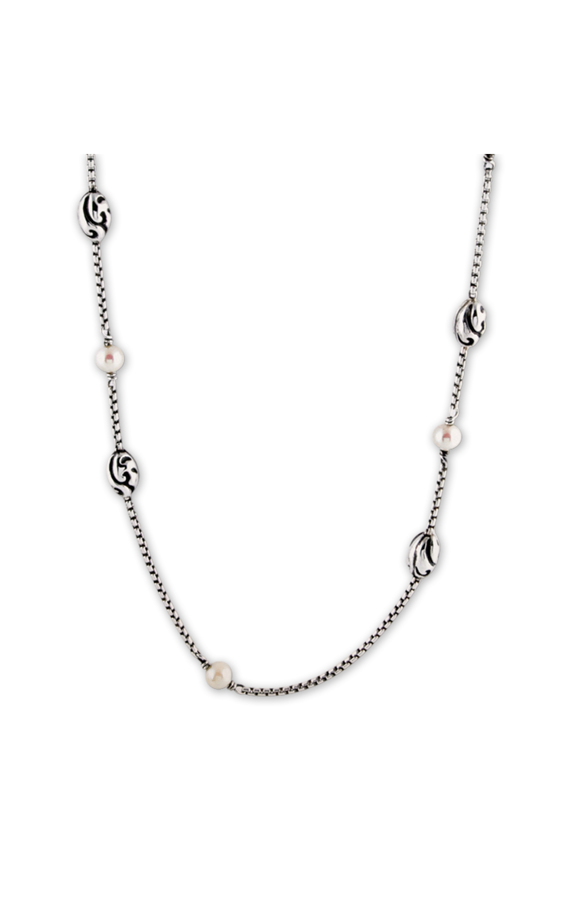 Zina Swirl Necklace A1233-17-PR product image
