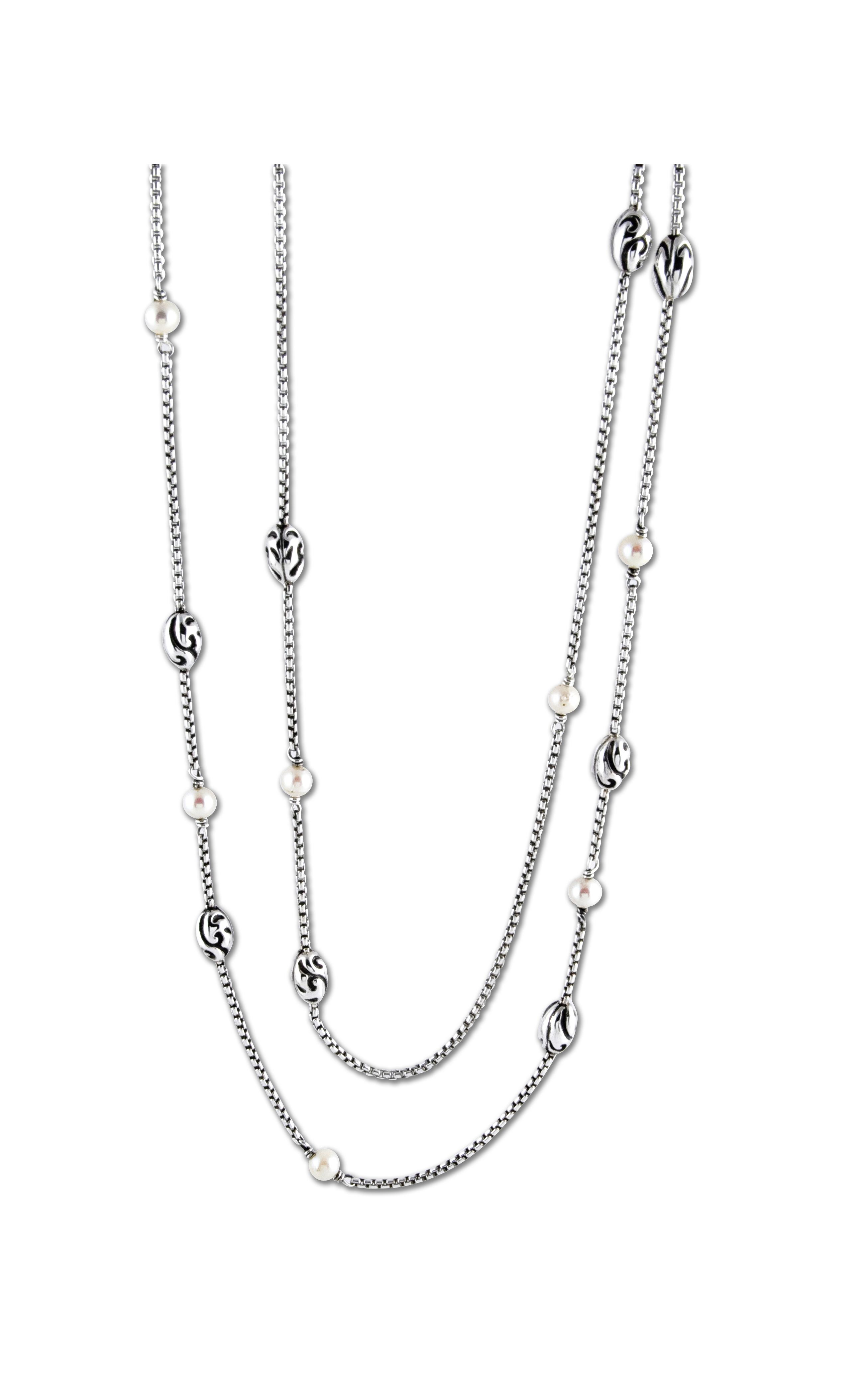 Zina Swirl Necklace A1233-51-PR product image