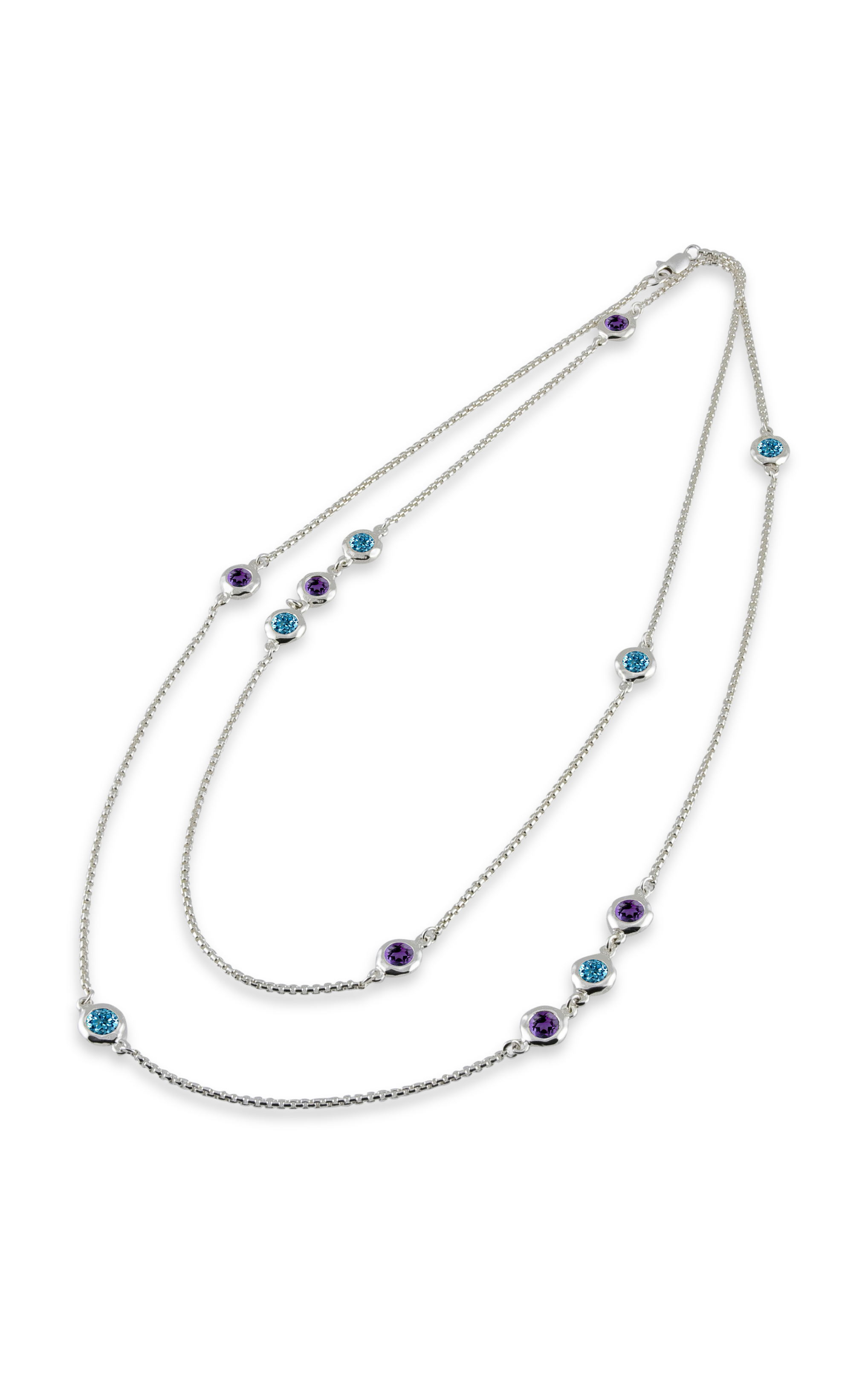 Zina Ripples Necklace A1631-36-AB product image