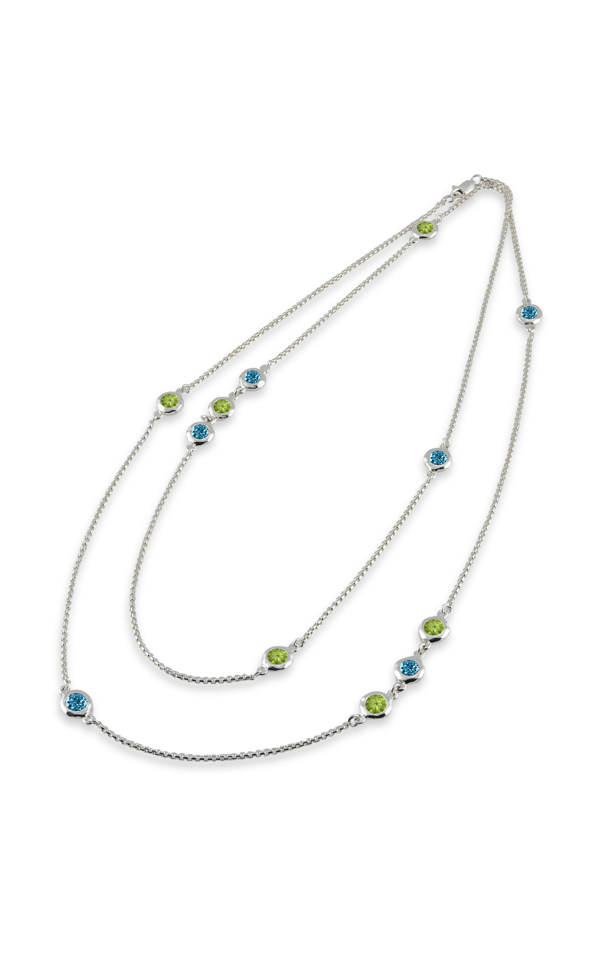 Zina Ripples Necklace A1631-36-BP product image