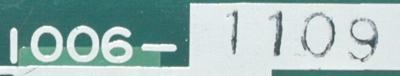 Okuma 1006-1109 label image