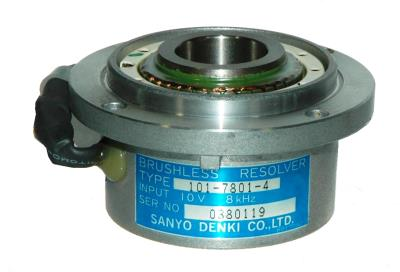New Refurbished Exchange Repair  Sanyo Denki Resolvers 101-7801-4 Precision Zone