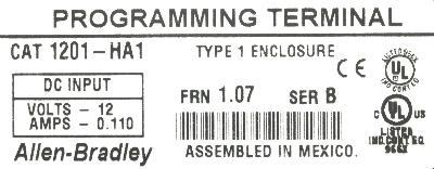 Allen-Bradley 1201-HA1 image
