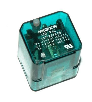Midtex Relays Inc 157-23T2C0-120VAC