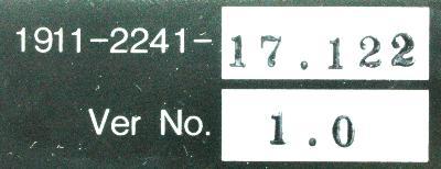 Okuma 1911-2241 label image