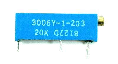 Bourns Inc 3006Y-1-203