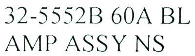 HAAS 32-5552B label image