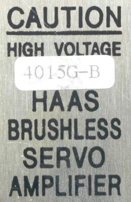 HAAS 4015G-B label image