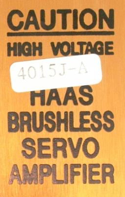 HAAS 4015J-A label image