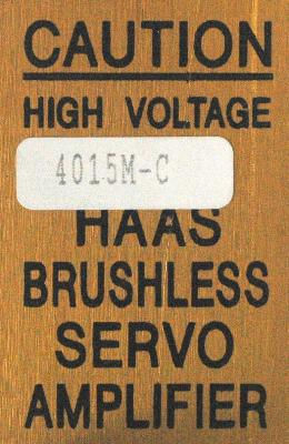 HAAS 4015M-C label image
