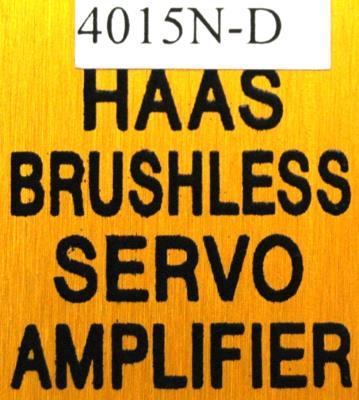 HAAS 4015N-D label image