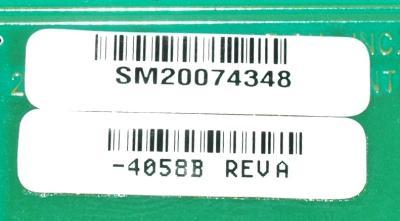 HAAS 4058B label image