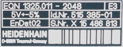 HEIDENHAIN 515385-01 label image
