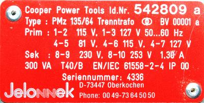 Cooper Tools 542809 image