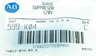 Allen-Bradley 599-K04 label image