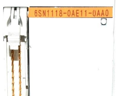 Siemens 6SN1118-0AE11-0AA0 label image