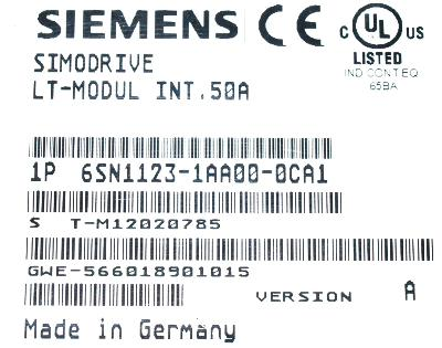 6SN1123-1AA00-0CA1 Siemens  Siemens  Precision Zone Industrial Electronics Repair Exchange