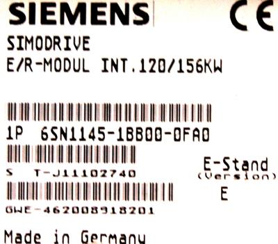 Siemens 6SN1145-1BB00-0FA0 label image
