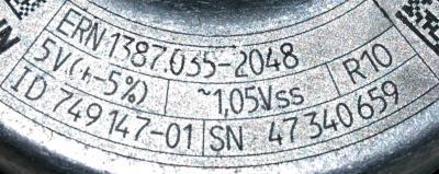 HEIDENHAIN 749147-01 label image