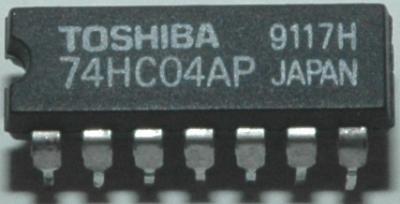 Toshiba 74HC04AP