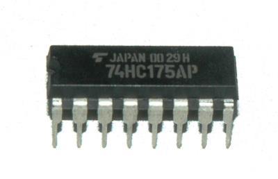 Toshiba 74HC175AP